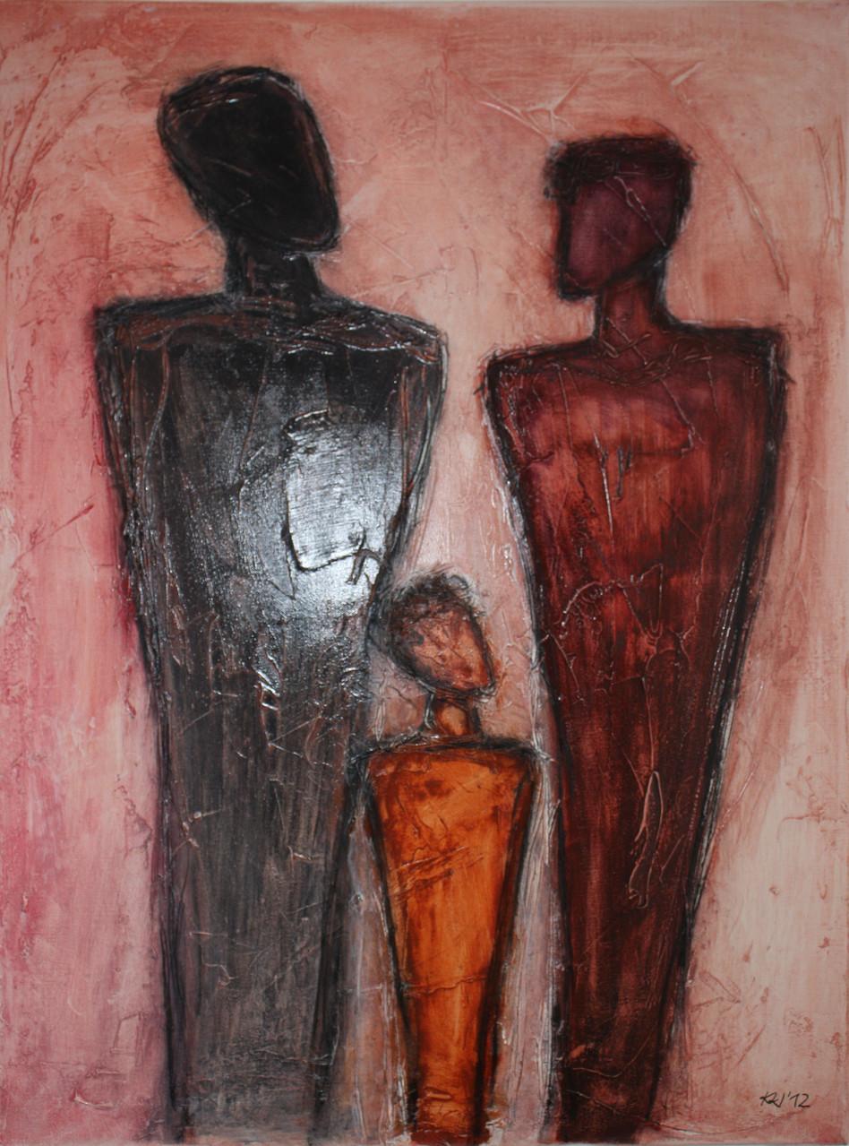 """2012-01 / """"Wir"""" / 60 x 80 cm"""