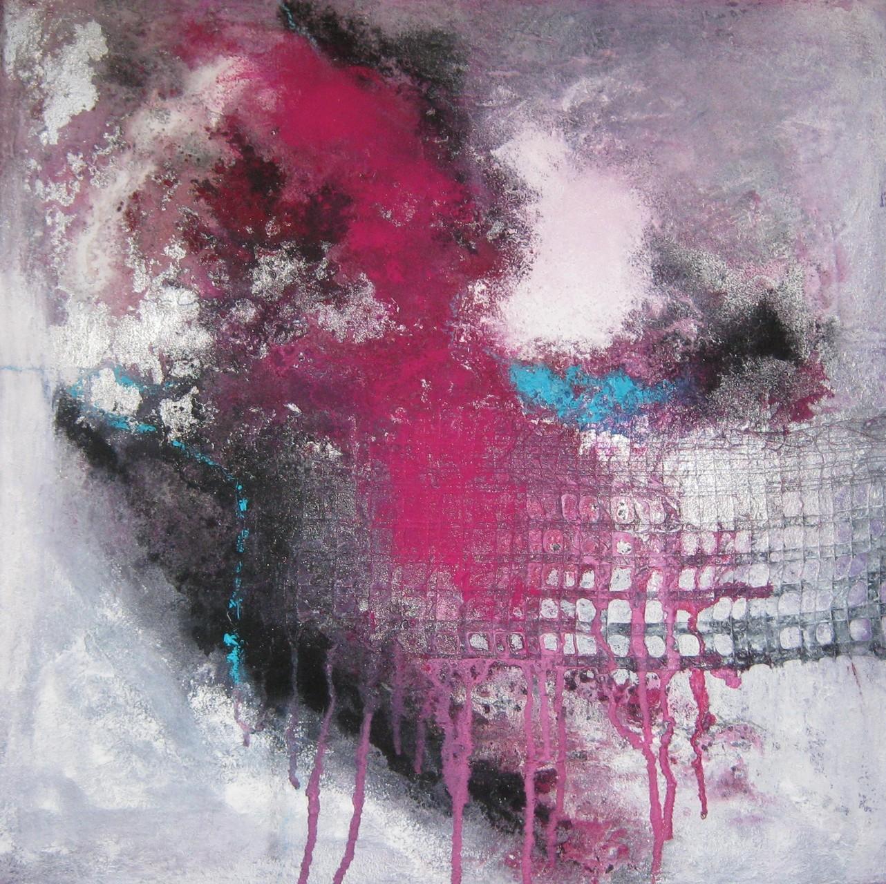 """2015-12 / """"Purpur"""" / 50 x 50 cm"""