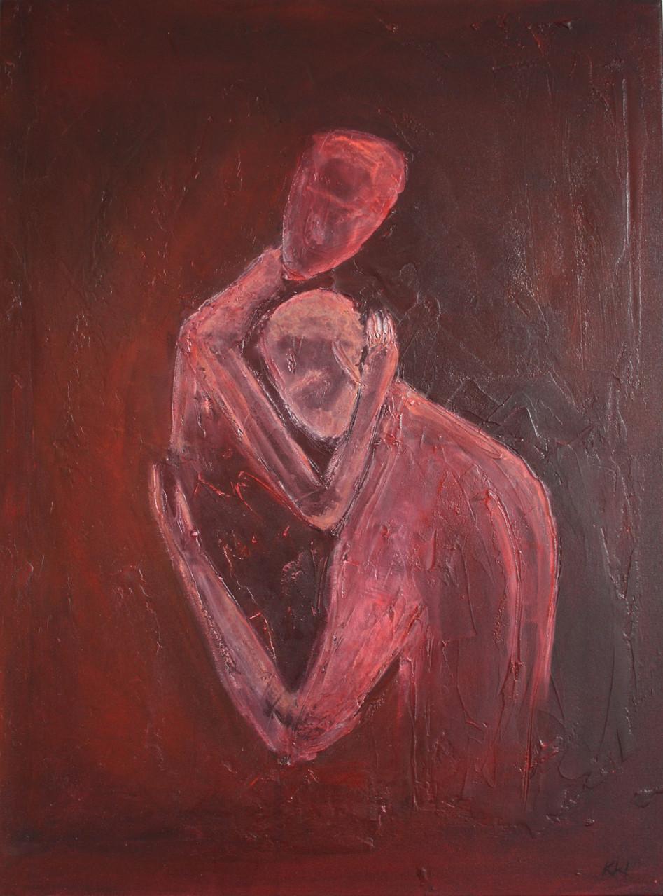 """2012-06 / """"Trauer und Trost"""" / 60 x 80 cm"""