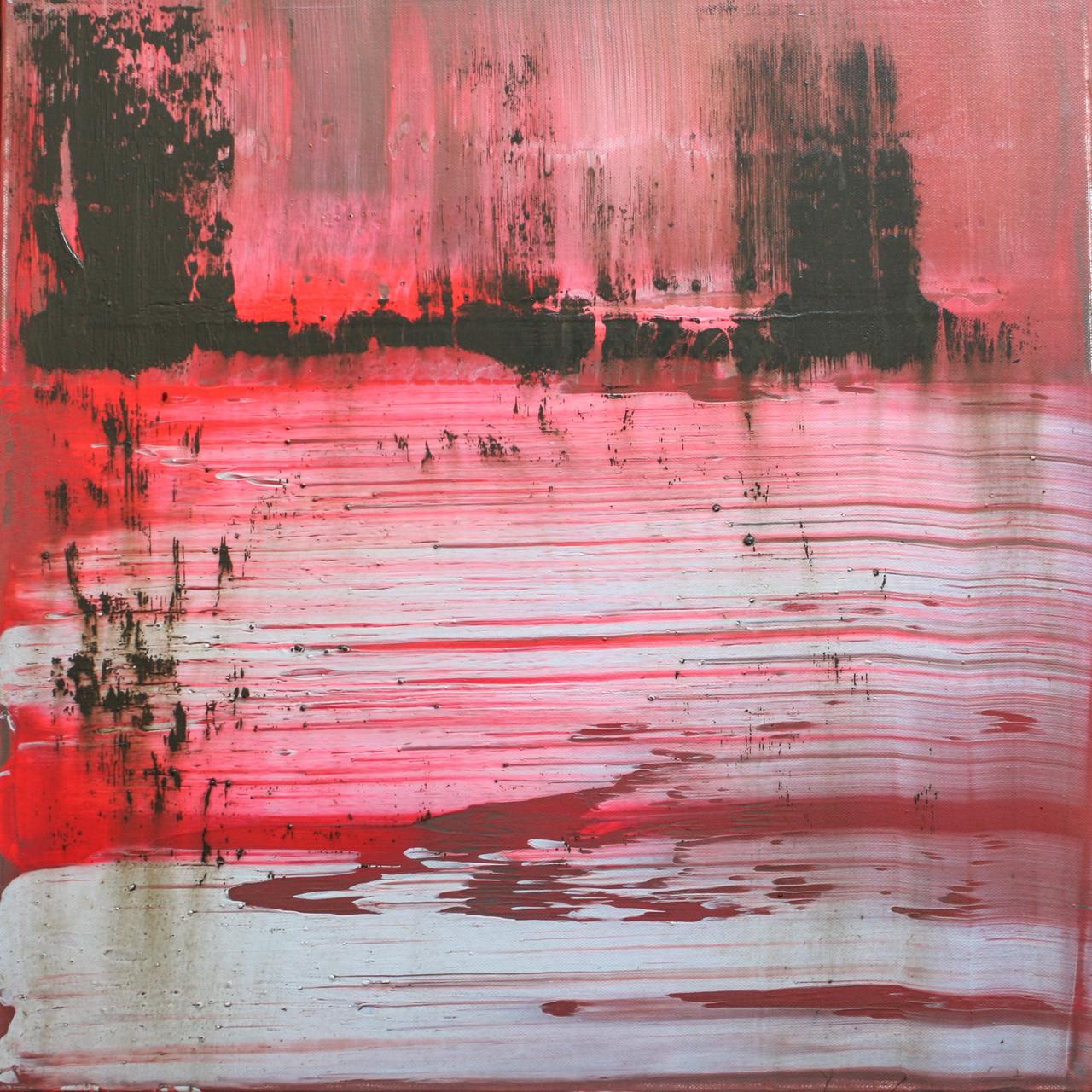 """2014-08 / """"Fluss Bild 3"""" / 50 x 50 cm"""