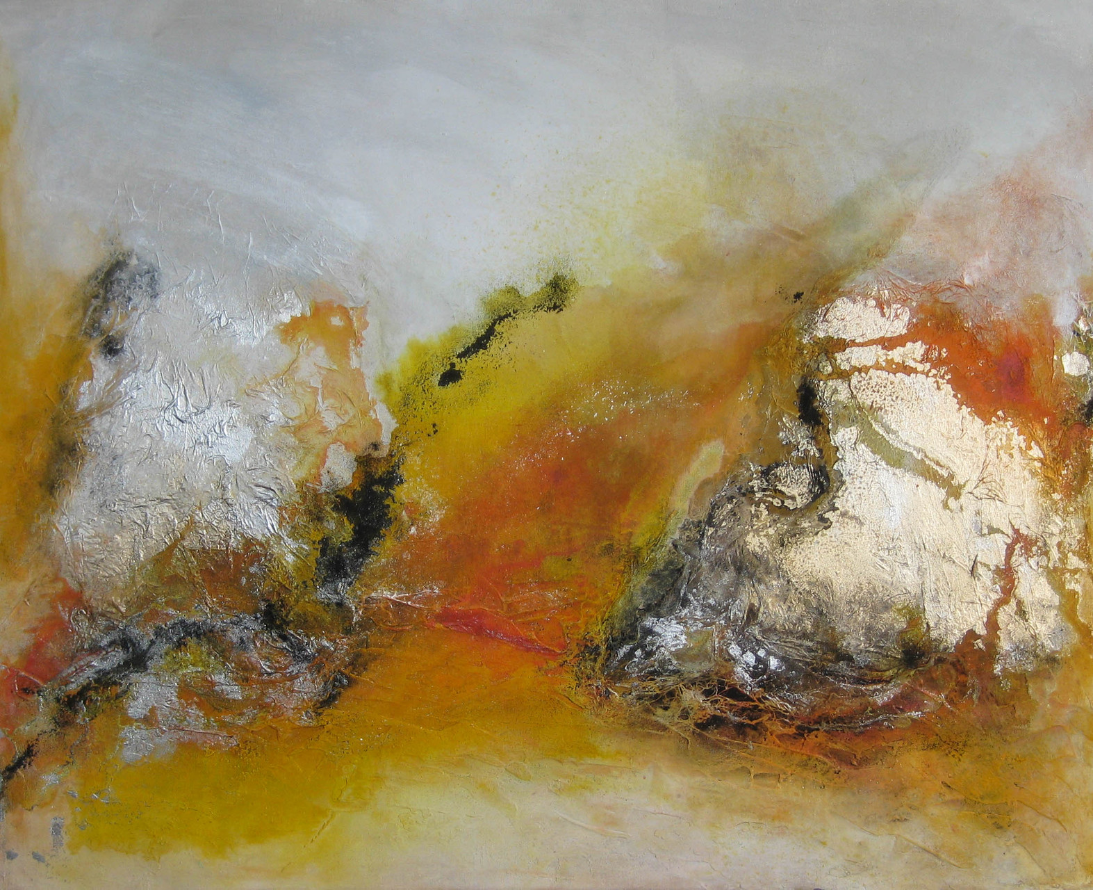 "2015-16 / ""Orange I"" / 80 x 100 cm"