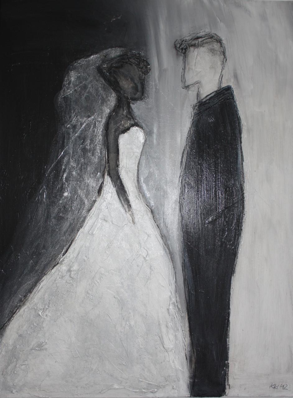 """2012-08 / """"Das Ehepaar"""" / 60 x 80 cm"""