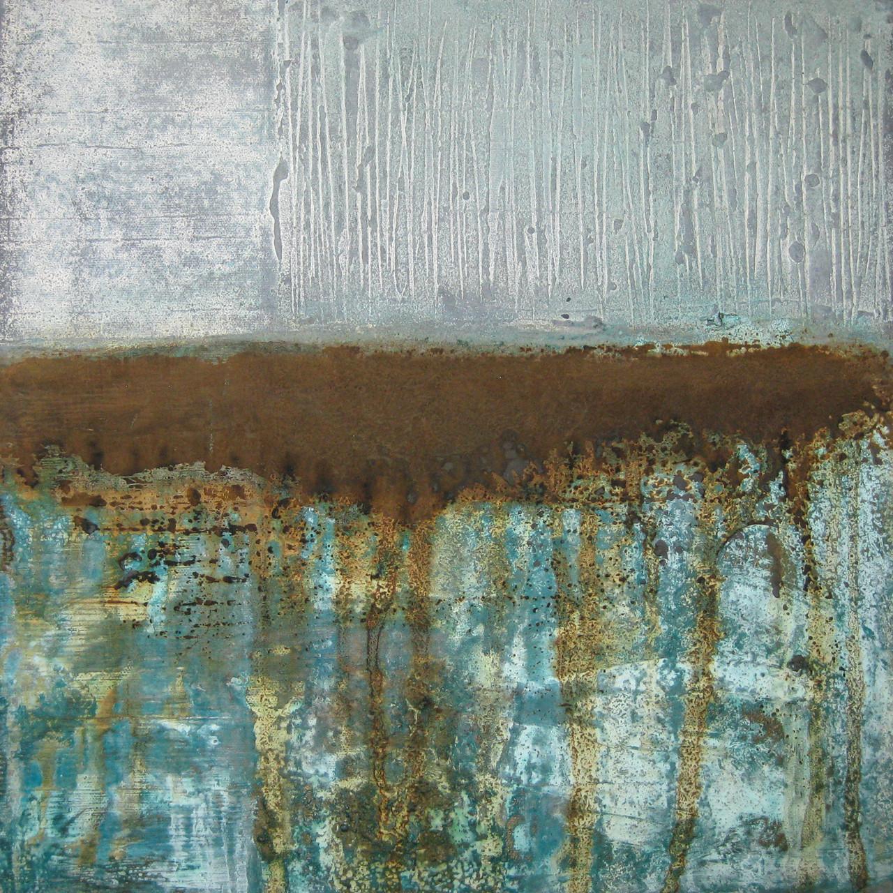 """2015-05 / """"Oxidation V"""" / 40 x 40 cm"""