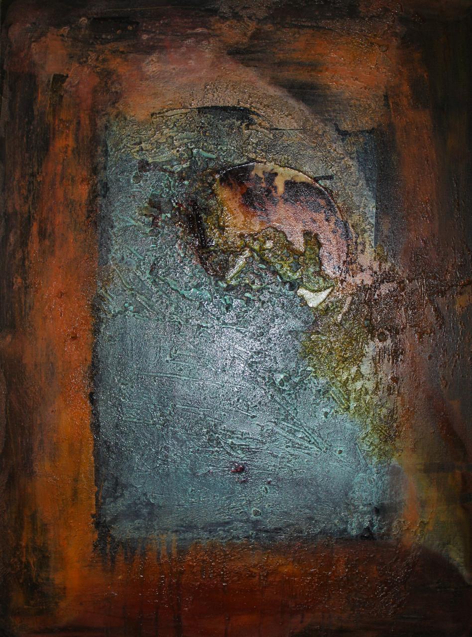 """2013-01 / """"Die Welle"""" / 60 x 80 cm"""