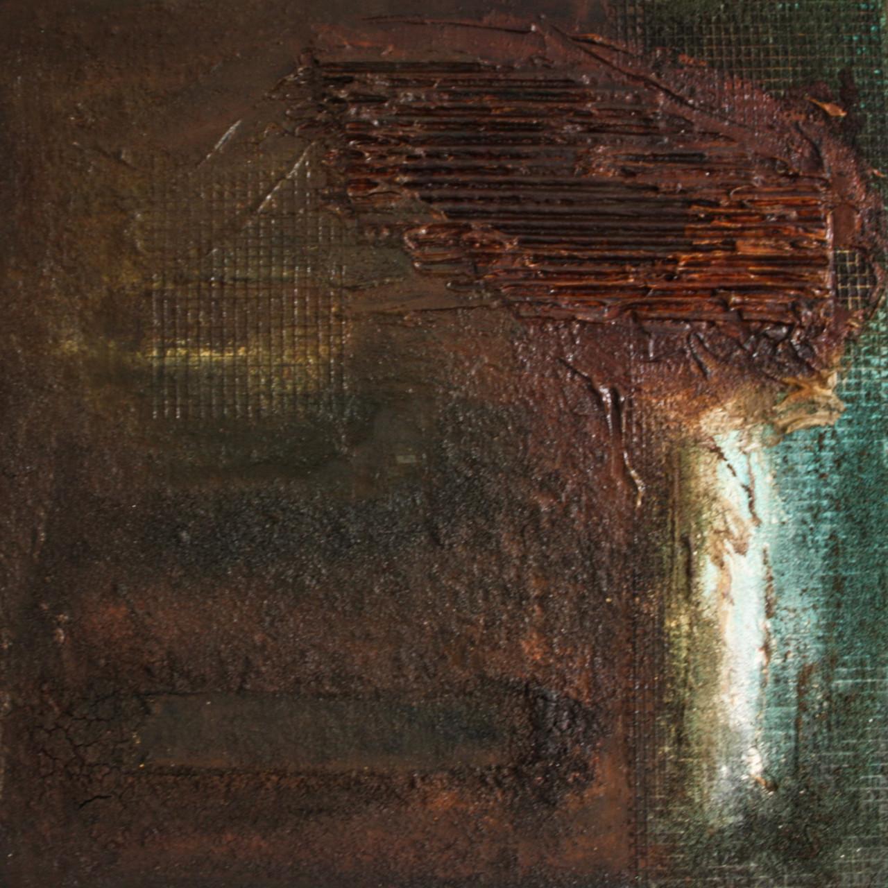 "2013-08 / ""Oxidation III"" / 40 x 40 cm"