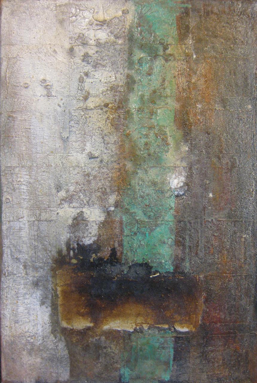 "2013-05 / ""Oxidation I"" / 40 x 60 cm"