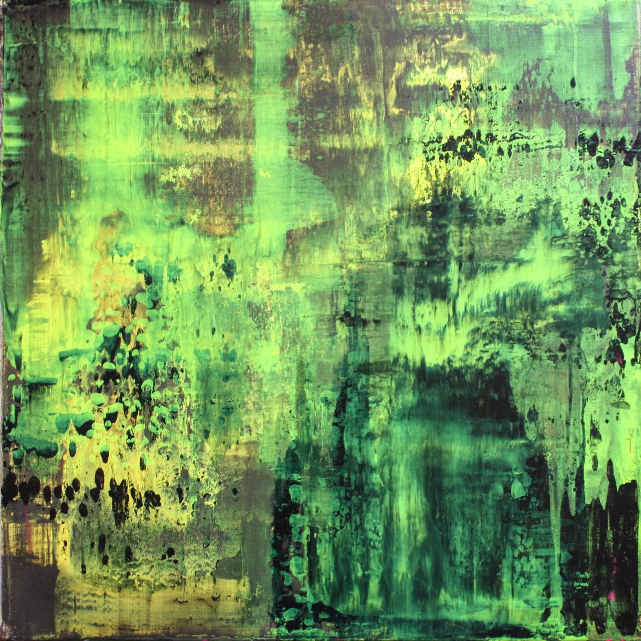 """2014-10 / """"Fluss Bild 5"""" / 50 x 50 cm"""