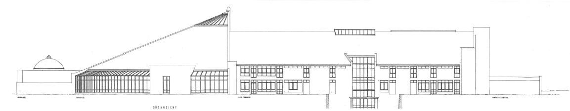Planung als angestellter Architekt in Teamarbeit: Sibyllenbad Neualbenreuth