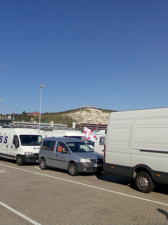 Im Hafen von Dover
