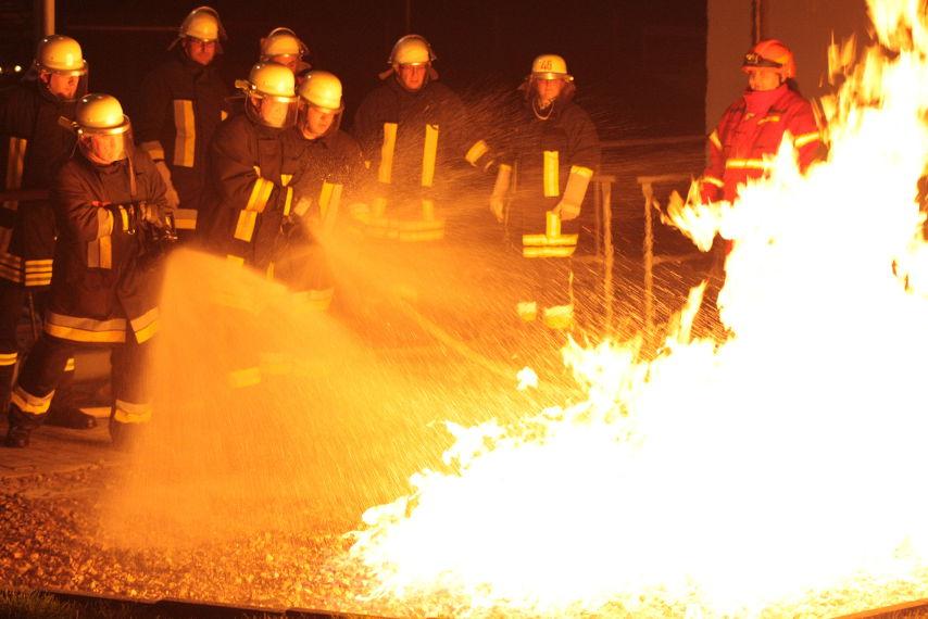 Training im Erdgas-Trainingszentrum der Syna