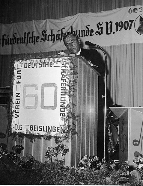Andreas Kohn bei der 60.Jahrfeier