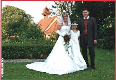Am 13. August 2005 haben wir unsere Ringe getauscht. Seither sind sie unsere ständige Begleiter und haben, wen wundert's, schon viele Komplimente eingebracht. Sie sind aber auch einfach wunderschön. Ihr habt tolle Arbeit geleistet. Désirée & Andreas
