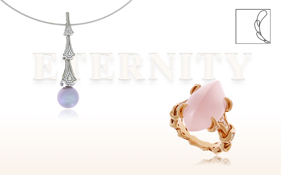 Schmuckkollektion Eternity von der Goldschmiede OBSESSION