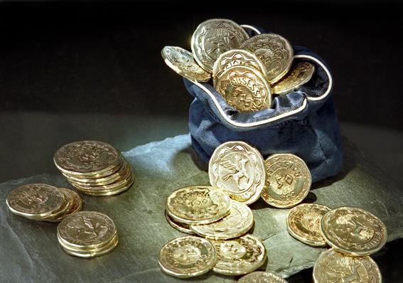 Gutscheinmünzen der Goldschmiede OBSESSION Zürich und Wetzikon