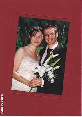 Liebe Alex, den 26. Juni 2004 werden wir nicht so schnell vergessen - wir haben diesen genialen Tag extrem genossen. Unsere tollen, speziellen Eheringe machen uns super viel Freude. Merci Regula & Beat