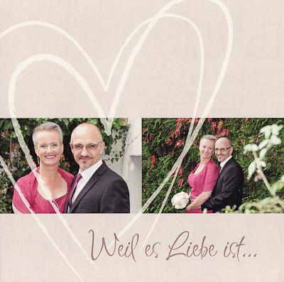 Glück ist, einen Weg gemeinsam gehen zu dürfen. Daniel & Silvia