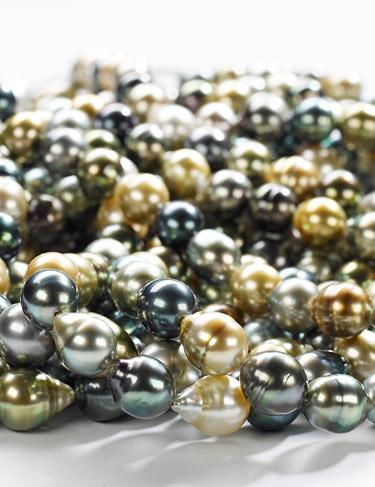 Farbenfrohe Fiji - Perlen