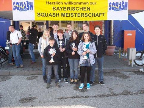 5 Titel bei Bayr. Meisterschaft