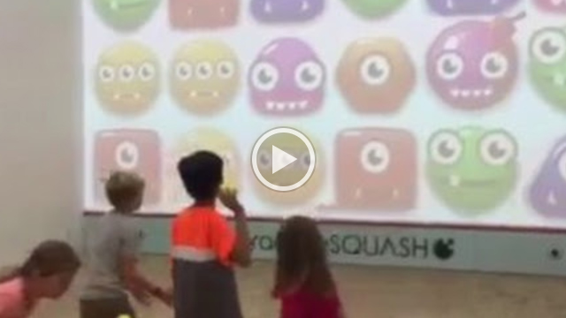 interactive Fun Court: Monster