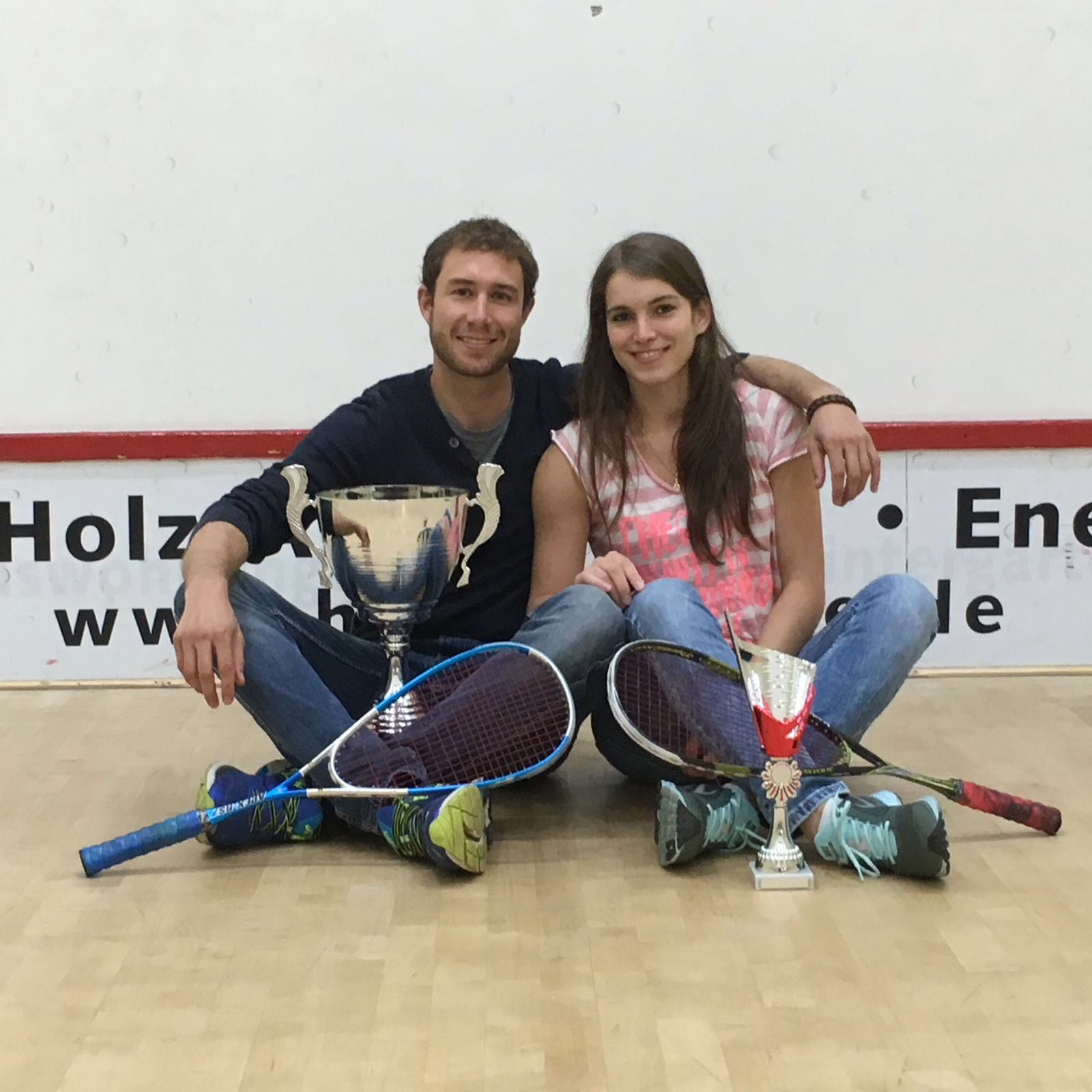 "Esteban & Nathalie - unser ""Squash-Traumpaar"""