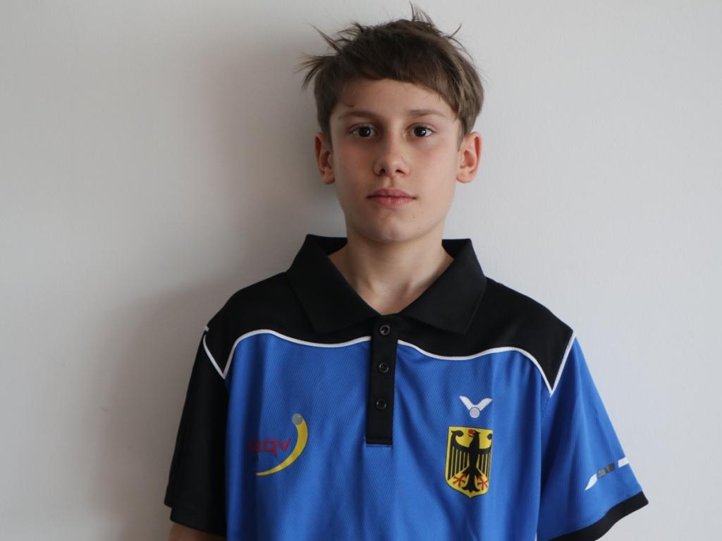 Nationalspieler Luis Grübel