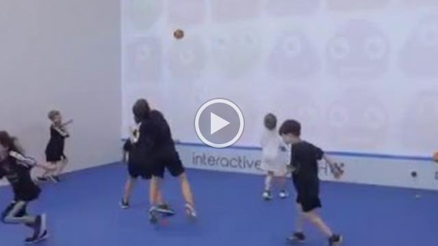 interactive Fun Court: verschiedene Spiele