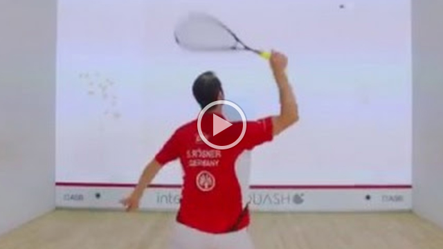interactiveSQUASH Trainings Court: Butterfly + Area Focus