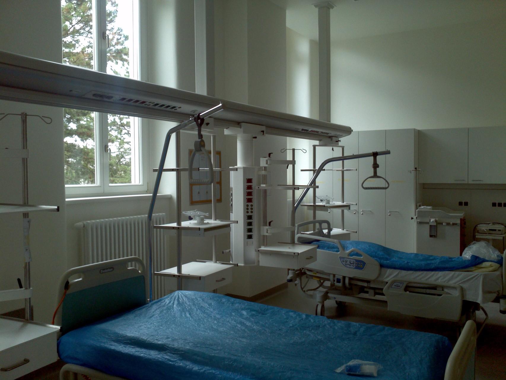 Krankenhaus Hietzing 1. Med. Abteilung - Umbau Überwachungsstation