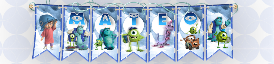 Banderines  MONSTERS INC