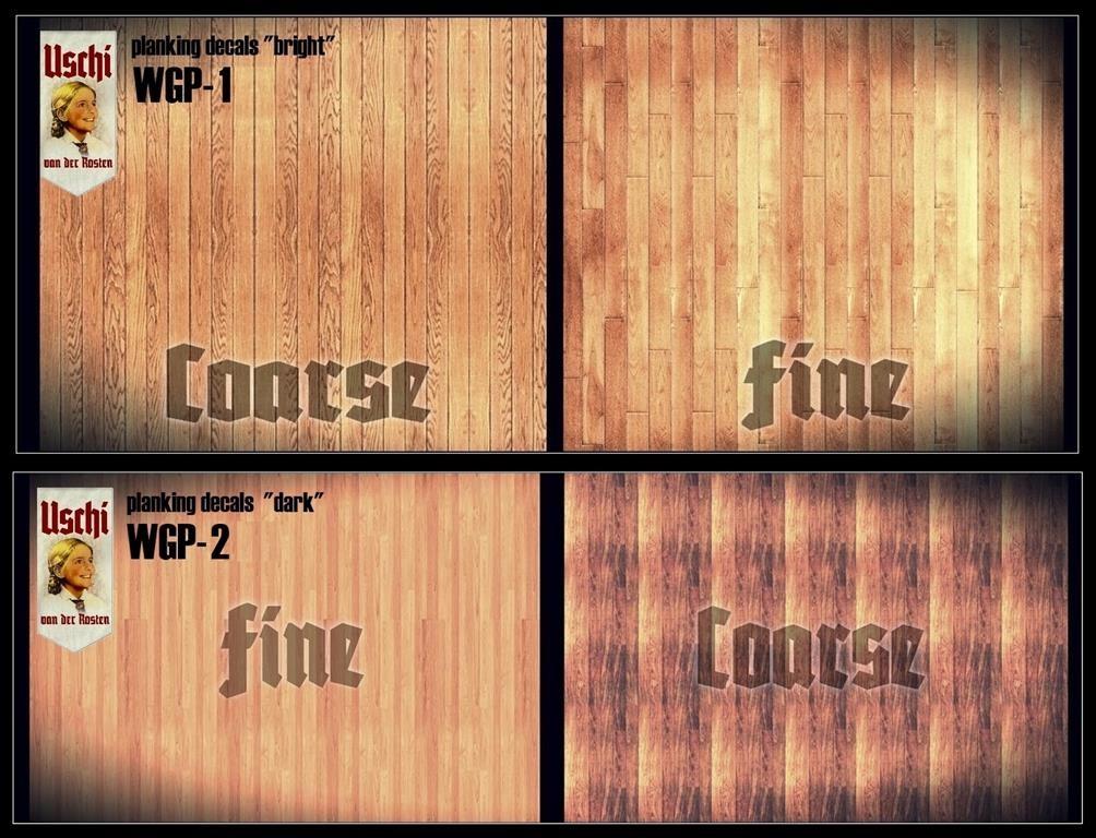 Shop Wood Grain Decals Uschi Van Der Rosten Carpet Decals