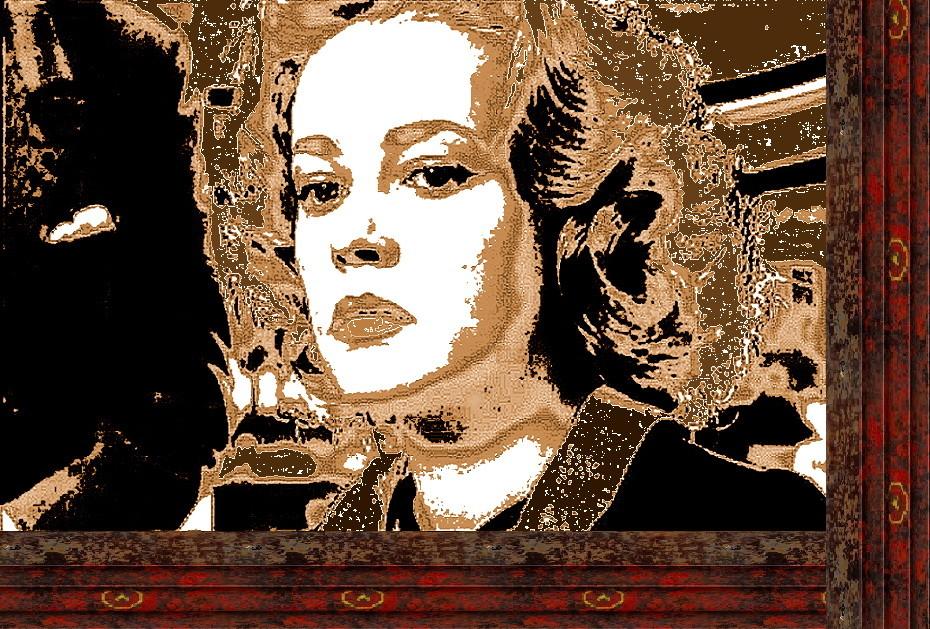 Jeanne Morreau in Fahrstuhl zum Schafott