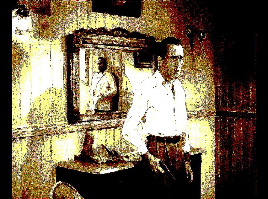 Gefühl Wand- Spiegelszene