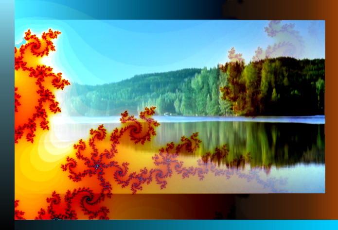 Fraktale Landschaft