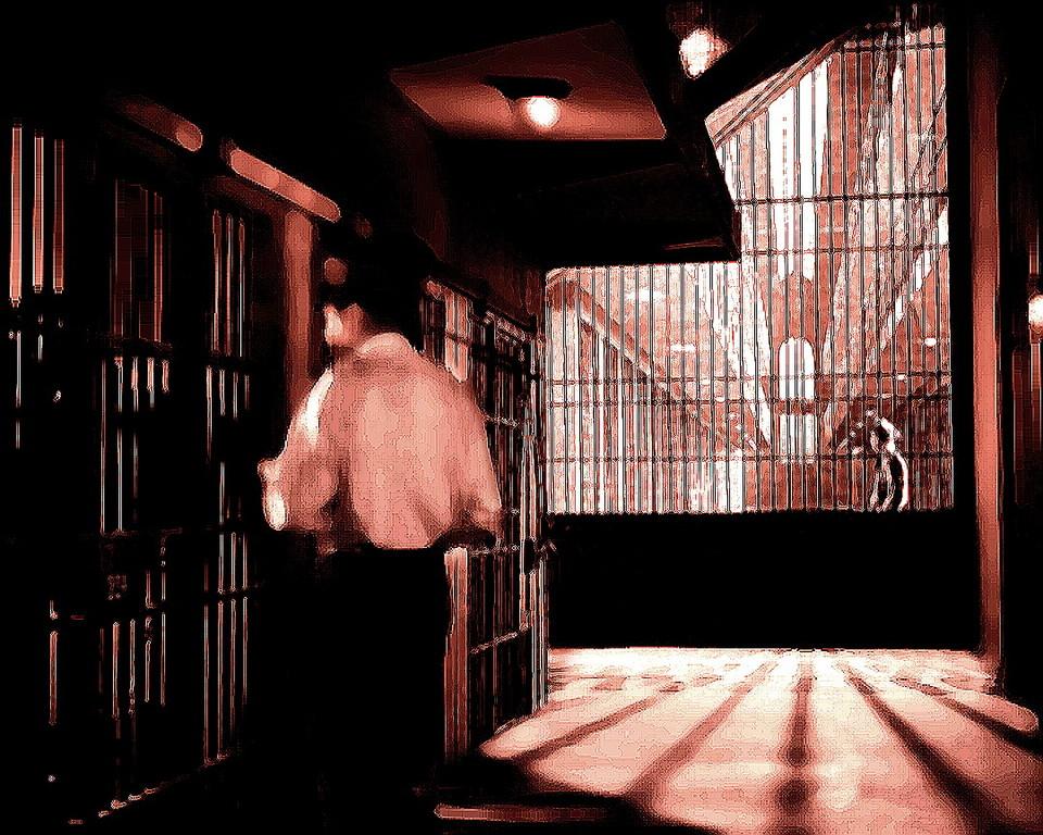 Gefängnissszene