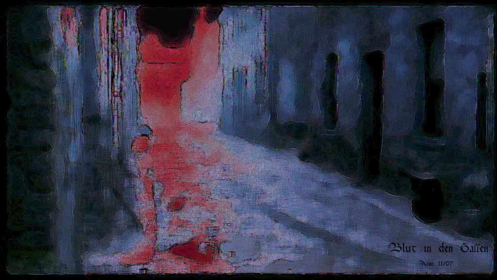 Blut in den Gassen