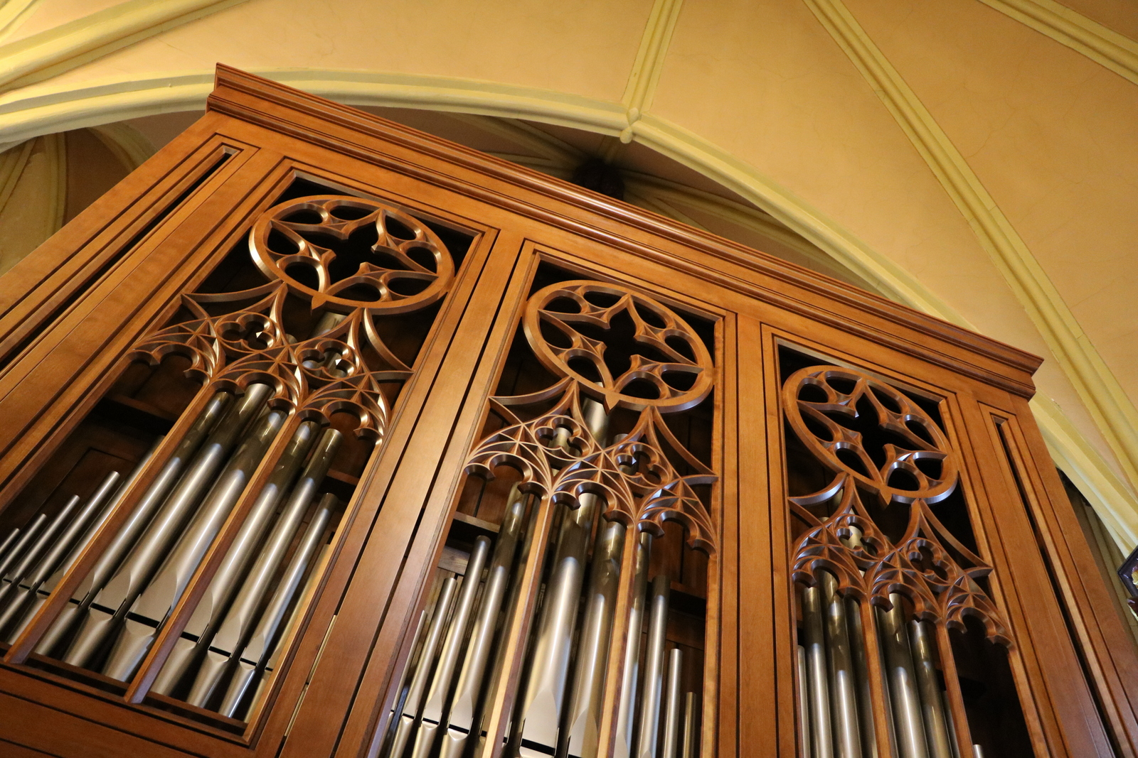 Inspiration organ installed in Saint-Michael Church, Beijing