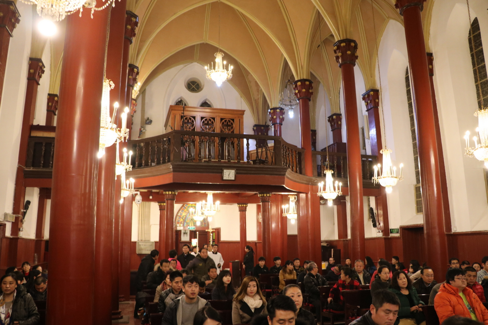 Orgue Inspiration installé à l'église Saint-Michael à Beijing