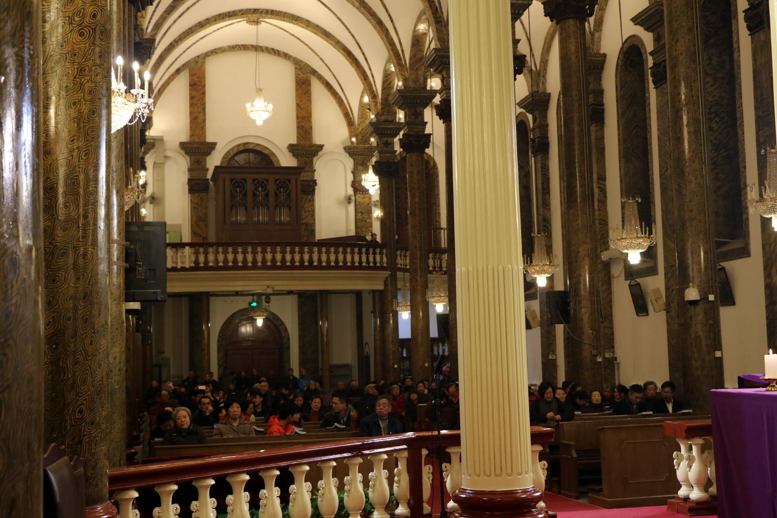 Orgue Inspiration installé à l'église de l'Est (Wangfujing) à Beijing