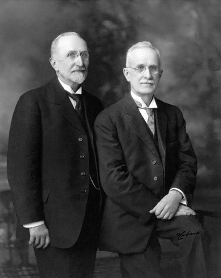 Claver and Samuel Casavant, founders of Casavant Frères