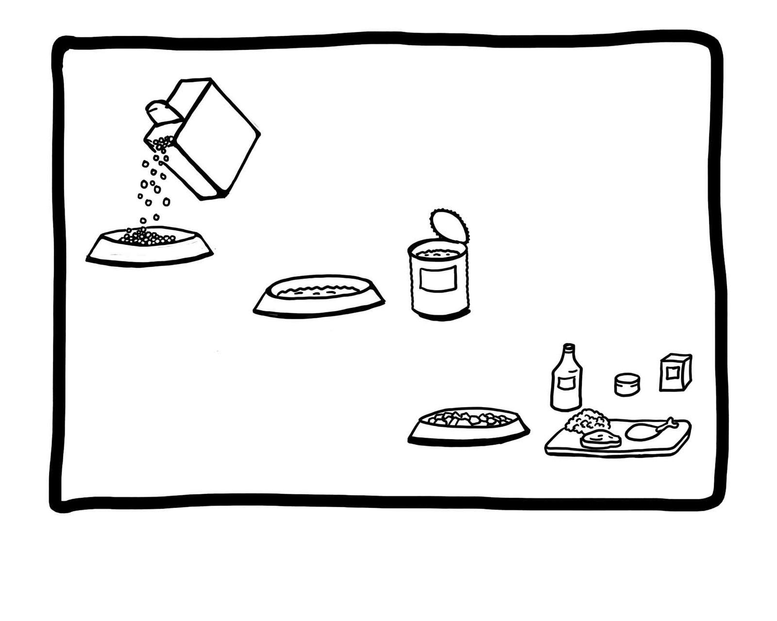 WENN DU WÄHLEN KÖNNTEST ? Was würdest du lieber essen? TROCKEN - aus der DOSE - oder FRISCH?