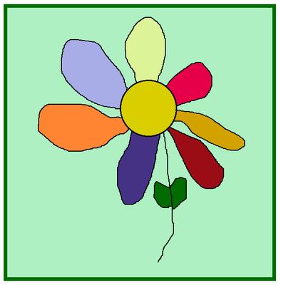 Цветик-семицветик. Автор неизвестен.