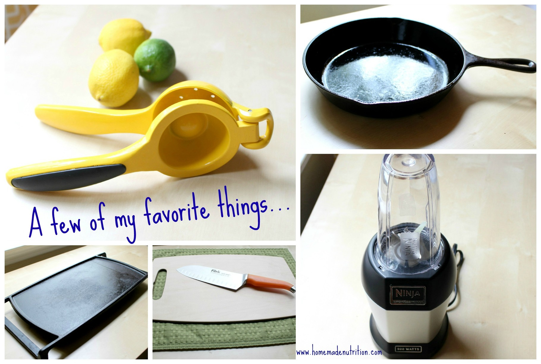 Top 5 Everyday Kitchen Gadgets and Tools - Homemade Nutrition ...