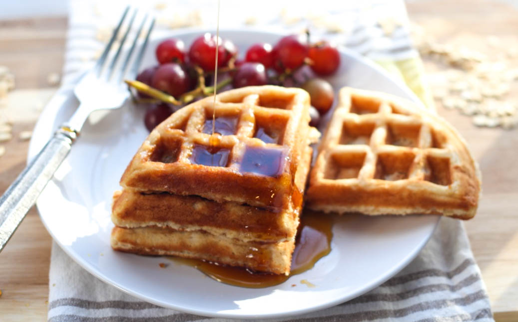 Freezer Friendly Oatmeal Waffles Homemade Nutrition