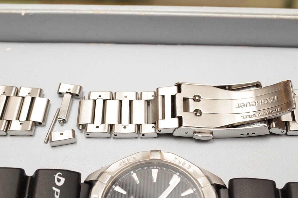 メタルブレスの故障 ベルト全交換せずに部分修理で対応できます