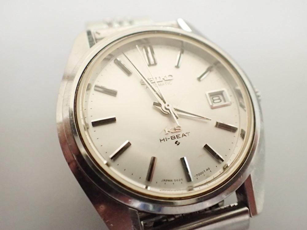 セイコー時計修理例
