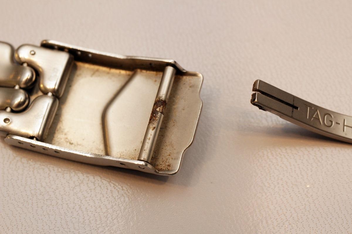 修理跡は最小限に、金属のつなぎ目の故障を修理いたします