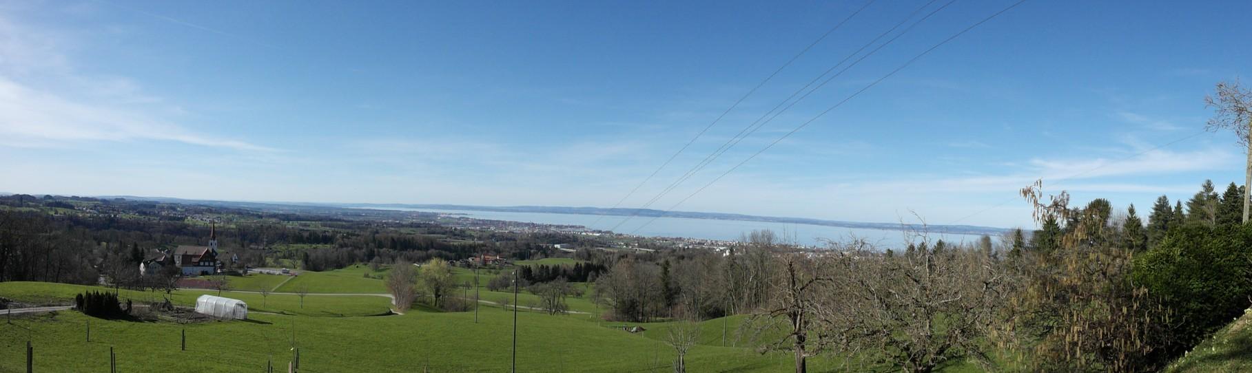 Aussicht über den Bodensee