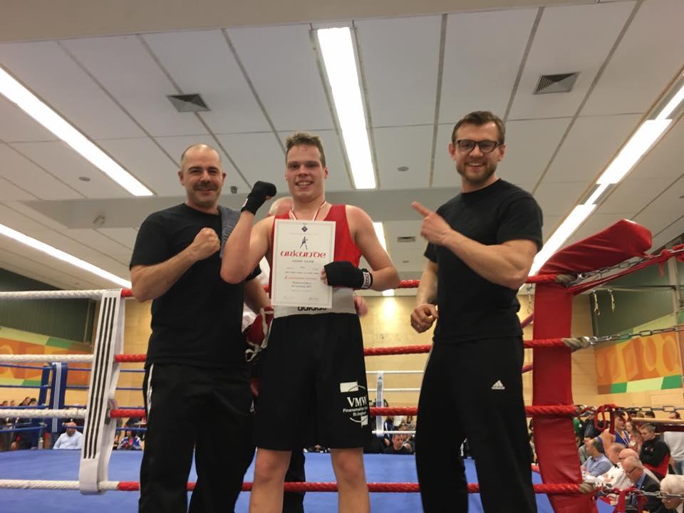 Alessio Salemi - Saarlandmeister 2017 - B-Jugend bis 75 kg
