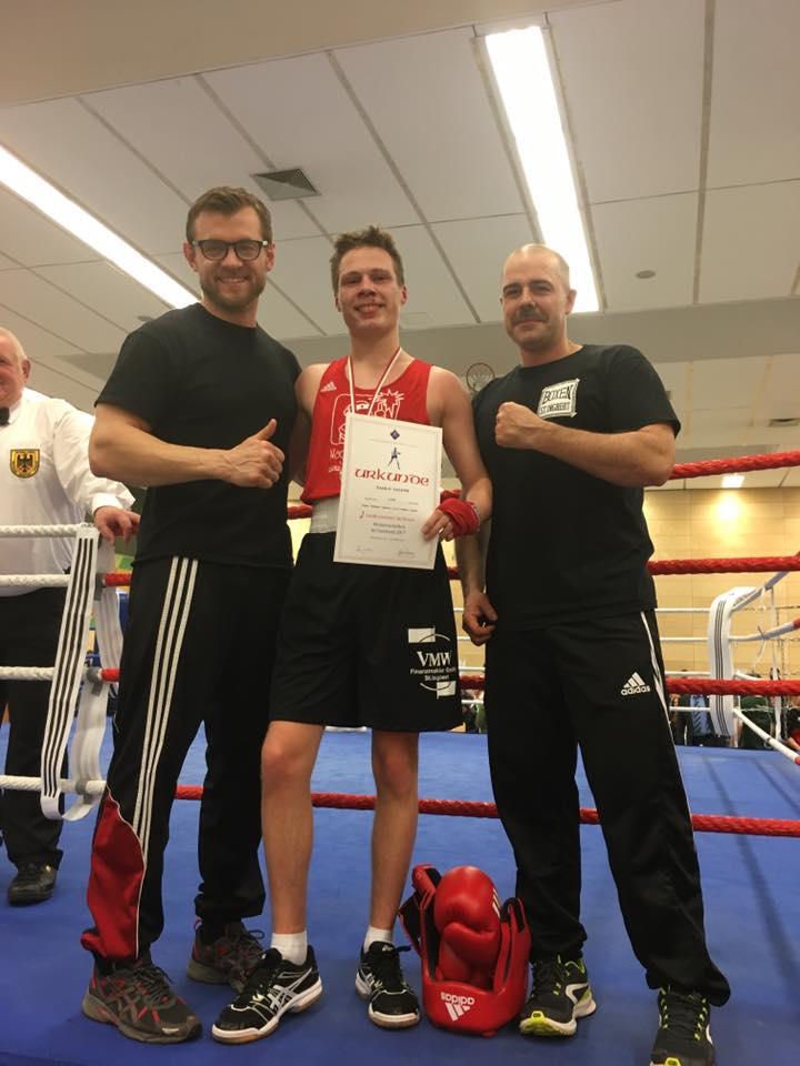 Paolo Salemi - Vize-Saarlandmeister 2017 - B-Jugend bis 60 kg