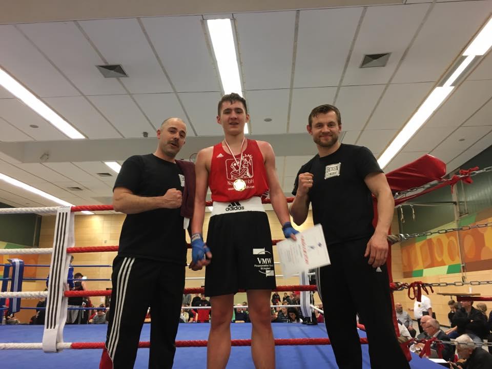 Denis Schmidt - Saarlandmeister 2017 - B-Junioren bis 75 kg